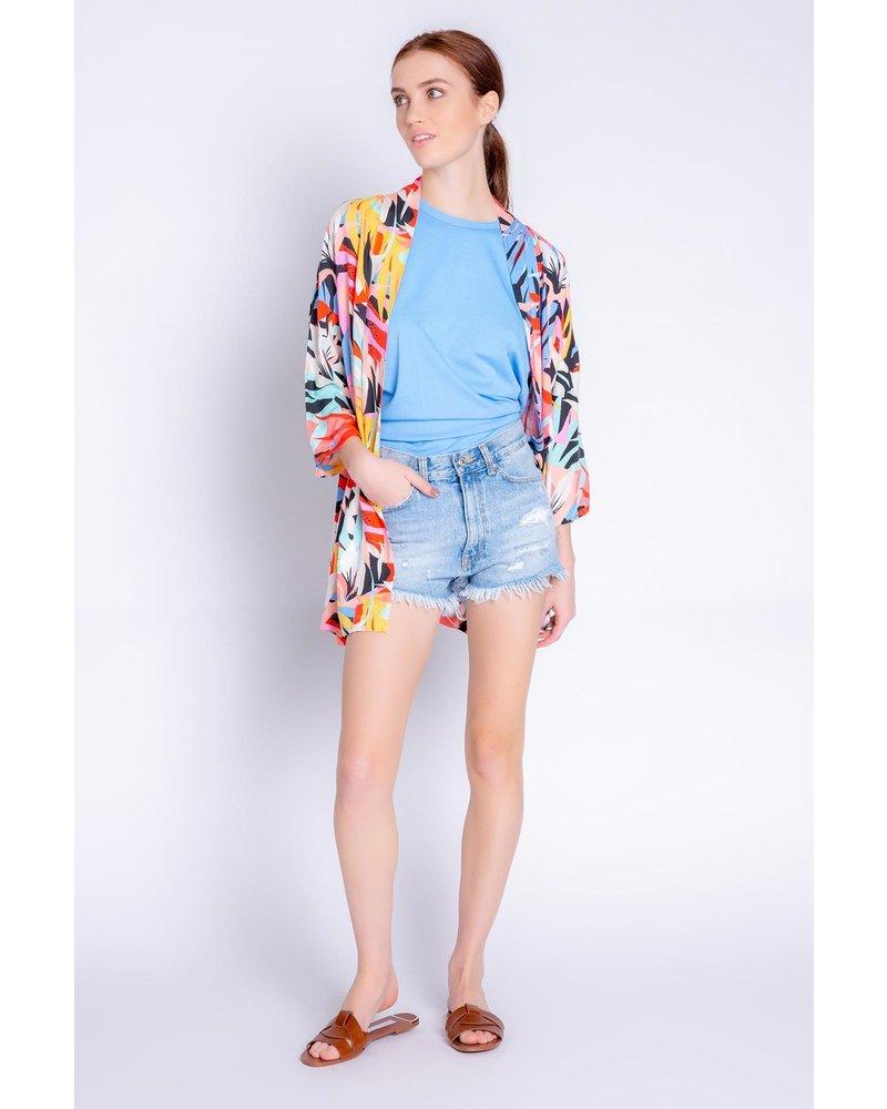 PJ Salvage Tropical Staycation Jacket