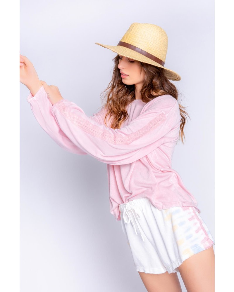 PJ Salvage Long Sleeve Sunset Pullover