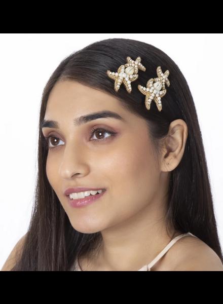 Deepa Gurnani Starfish Bobby Pin Set