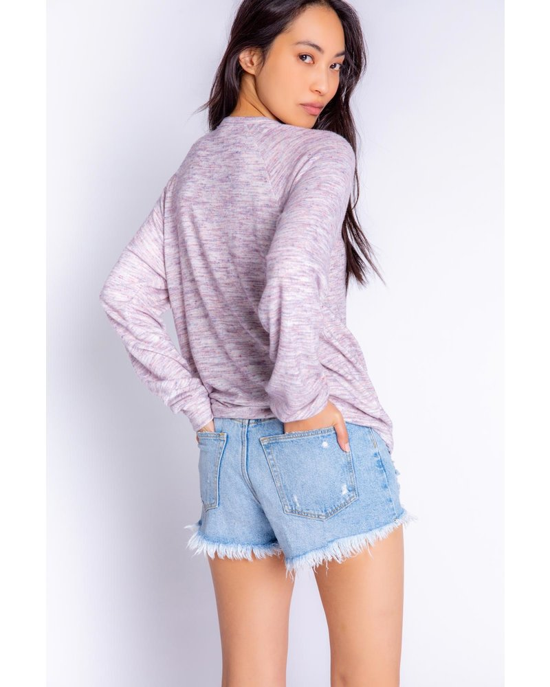 PJ Salvage Spaced Out Long Sleeve Pullover