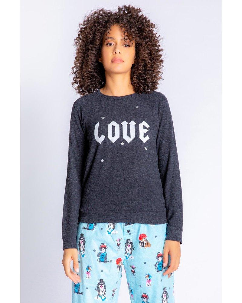 PJ Salvage Love Pullover