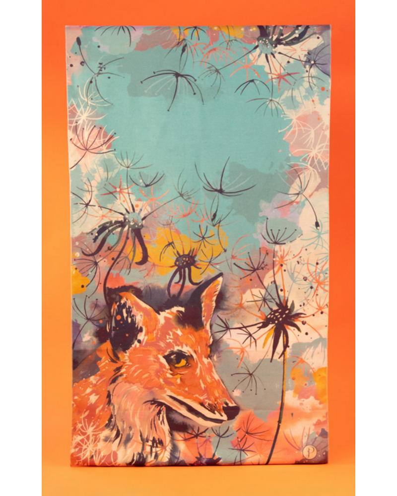 Powder Fox Luxe Printed Scarf