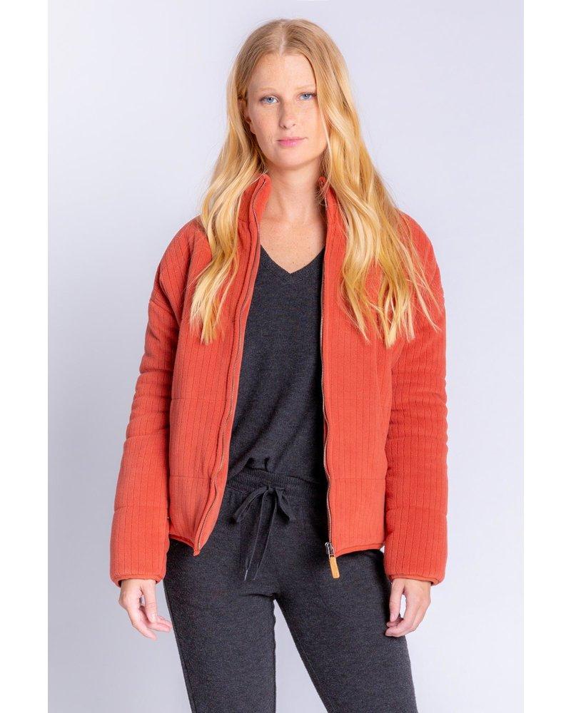 PJ Salvage Stay Cozy Jacket Sienna
