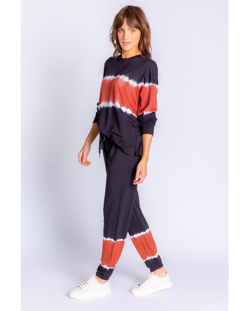 PJ Salvage Sienna Sunset Tie Dye Sweatshirt