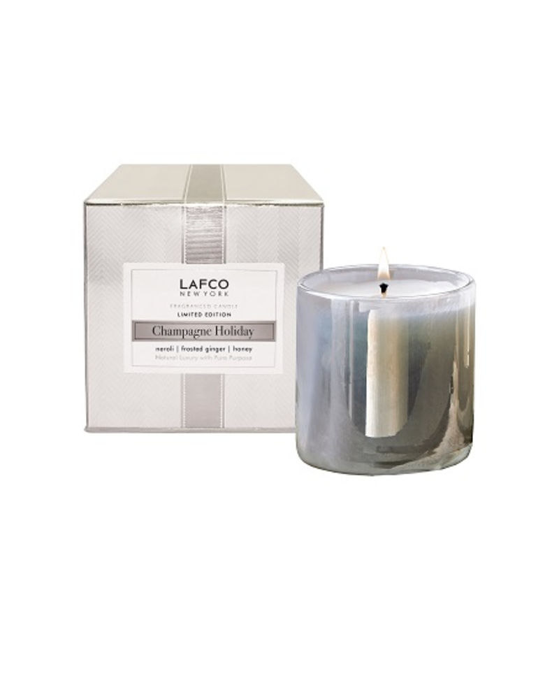 LAFCO Champagne Holiday Mini Candle