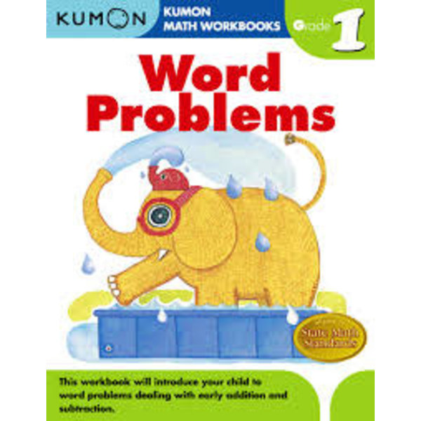 Kumon Publishing KUMON Grade 1 Word Problems