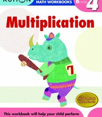 Kumon Publishing Kumon Grade 4 Multiplication