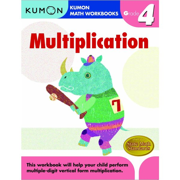 Kumon Publishing Kumon Grade 4 Multiplication