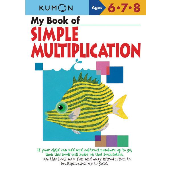 Kumon Publishing KUMON My Book Of Simple Multiplication 678