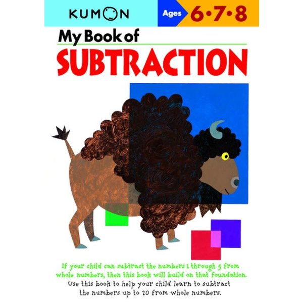 Kumon Publishing KUMON My Book Of Subtraction 678