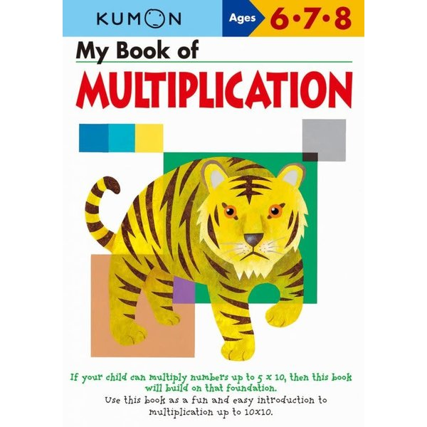 Kumon Publishing KUMON Multiplication My Book Of