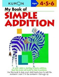 Kumon Publishing KUMON Simple Addition My Book Of
