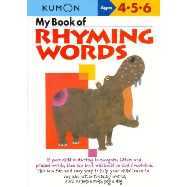 Kumon Publishing KUMON Rhyming Words  456