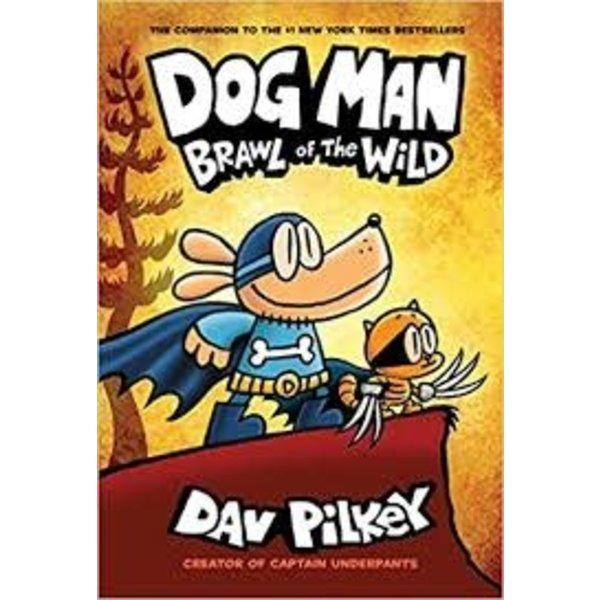 SCHOLASTIC SCH DOG MAN 6 BRAWL OF THE WILD