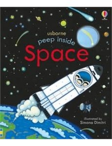 USBORNE USB PEEP INSIDE SPACE