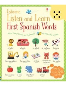 USBORNE USB LISTEN LEARN FIRST SPANISH WORDS