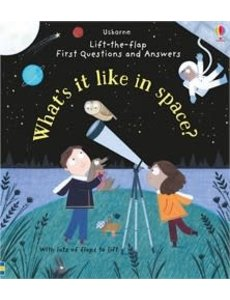 USBORNE USB FIRST QUESTIONS AND ANSWERS WHAT´S IT LIKE IN SPACE