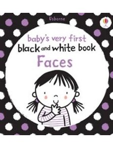 USBORNE USB BABY´S VERY FIRST BLACK AND WHITE BOOK FACES