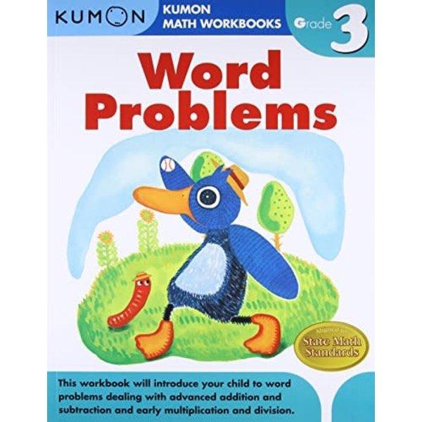 Kumon Publishing KUMON Grade 3 Word Problems