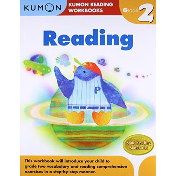 Kumon Publishing Kumon Grade 2 Reading