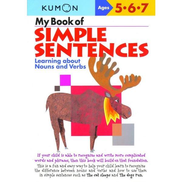 Kumon Publishing KUMON  My Book Of Simple Sentences Ages 567