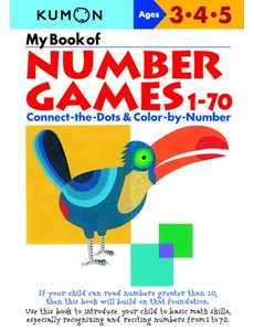 Kumon Publishing KUMON Number Games 1-70 Ages 345