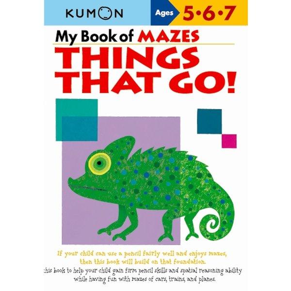 Kumon Publishing KUMON Mazes Things that Go! 567