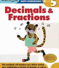 Kumon Publishing KUMON Grade 5 Decimals & Fractions