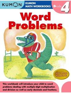 Kumon Publishing KUMON Grade 4 Word Problems