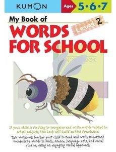 Kumon Publishing KUMON WORDS FOR SCHOOL 5.6.7 LEV 2