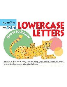 Kumon Publishing KUMON LOWER CASE LETTERS Ages 4-5-6