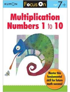 Kumon Publishing KUMON Multiplication Numbers 1 to 10