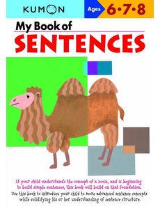 Kumon Publishing Kumon My Book Of Sentences