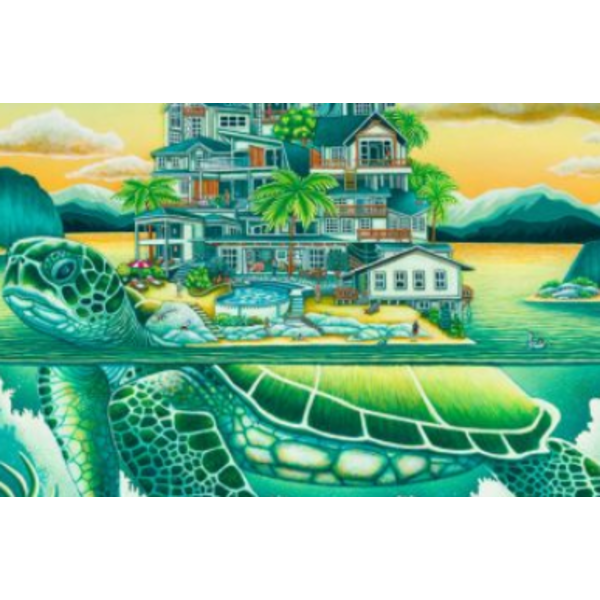 STANDOUT PUZZLES 500 PC TURTLE COVE SOP