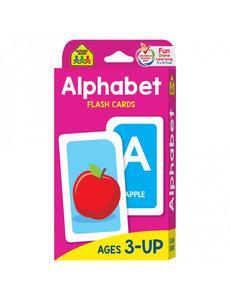 SCHOOL ZONE ALPHABET FLASH CARDS