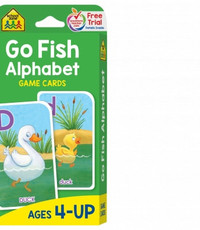 SCHOOL ZONE GO FISH ALPHABET FLASH CARDS