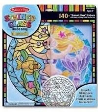 Melissa & Doug MD STAINED GLASS MERMAID