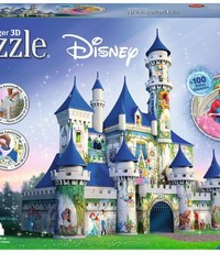 RAVENSBURGER 216 pc Disney Castle (3D Puzzle)