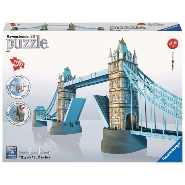 RAVENSBURGER 216 pc rb Tower Bridge ( Puzzle)