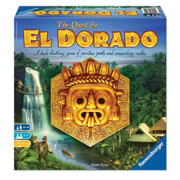 RAVENSBURGER RB THE QUEST FOR EL DORADO GAME