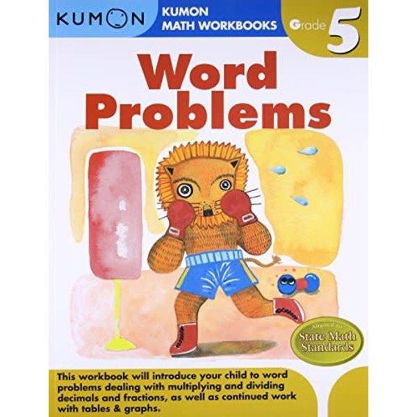 Kumon Publishing KUMON Grade 5 Word Problems