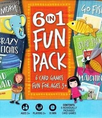 HOYLE 6 IN 1 FUN PACK CARD GAME