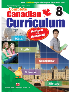 Popular Book Company Canadian Curriculum 8 Revised and Updated!
