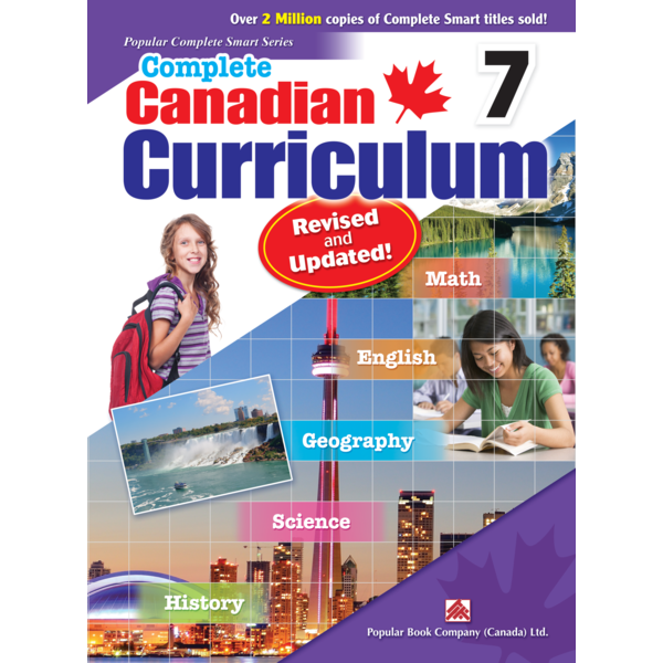 Popular Book Company Canadian Curriculum 7 Revised and Updated!