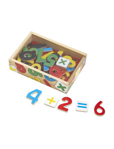 Melissa & Doug M&D WOODEN NUMBER MAGNETS