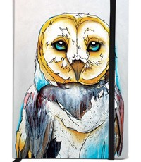 CANADIAN ART P BARN OWL JOURNAL