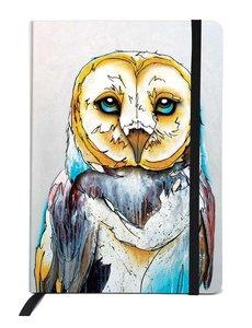 CANADIAN ART P BARN OWL JOURNAL