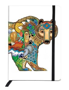 CANADIAN ART P Grizzly Bear Journal