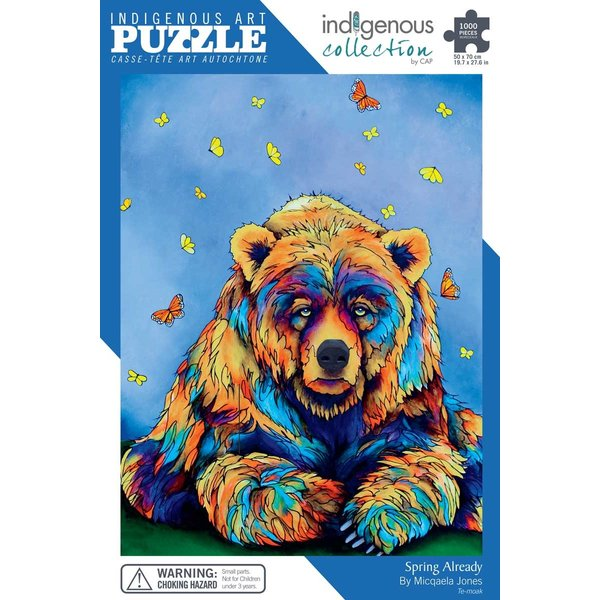 CANADIAN ART P 1000 pc SPRING ALREADY  PUZZLE