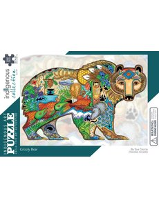 CANADIAN ART P 1000 pc GRIZZLY BEAR PUZZLE